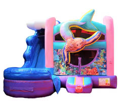 Mermaid Bounce House rental Long Island