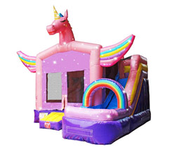 Unicorn Bounce House rental Long Island