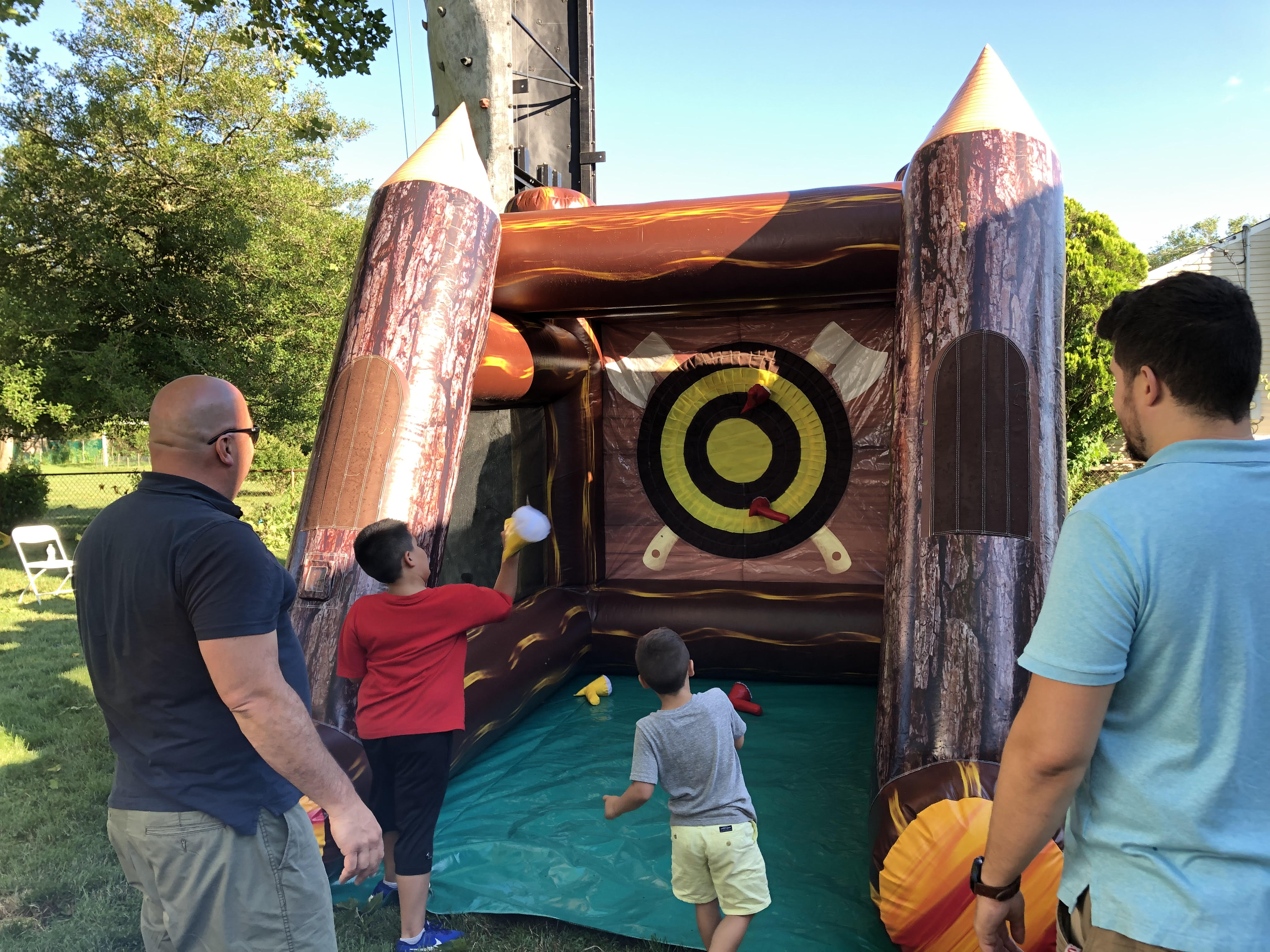 Inflatable Axe Throwing Game Rentals Partyrentalsareus