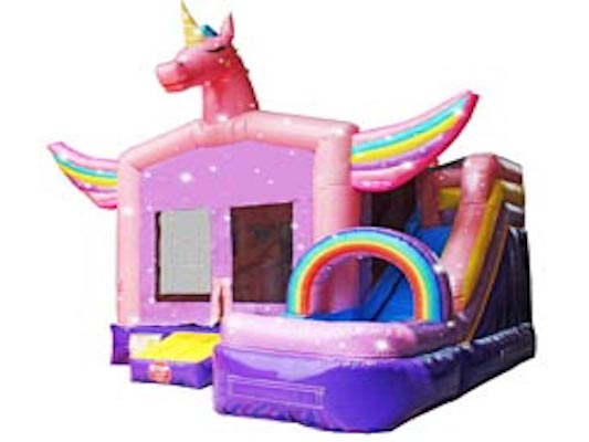 unicorn bounce house rental