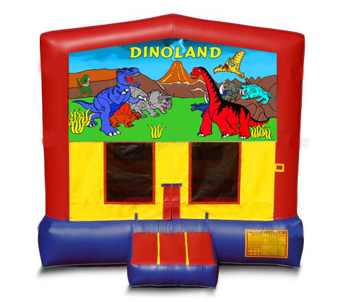 Dino Land Bounce House