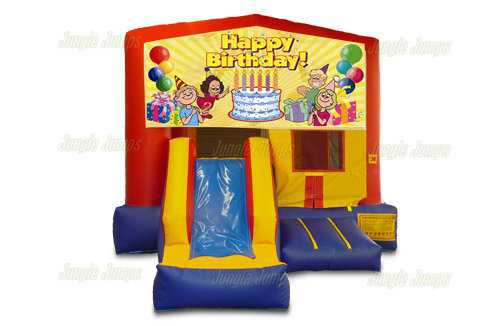 Happy Birthday II Bounce House Combo