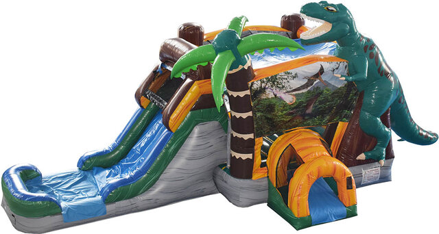 Jurassic Combo Bounce House