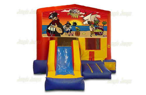 Pirate Cove Combo Bounce House