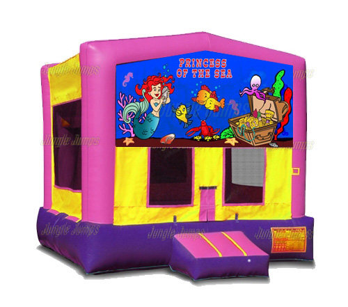 Princess Of the Sea Bounce House
