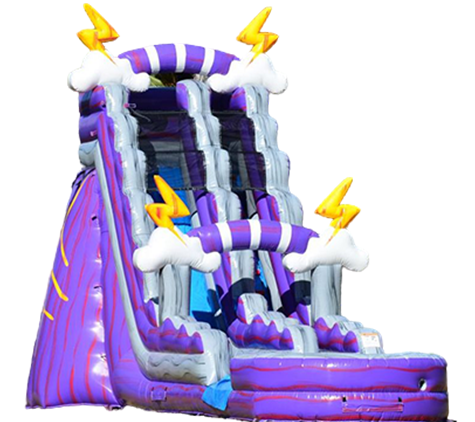 Purple Thunder Water Slide