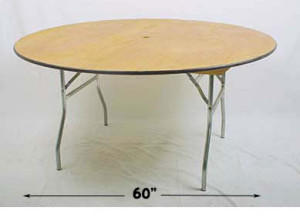 Discounted 60inches Round Tables