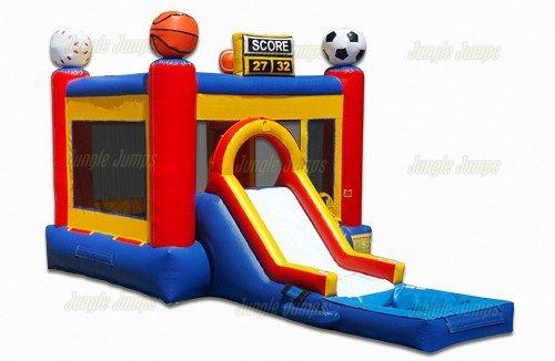 Sports Bounce House Combo w. Pool