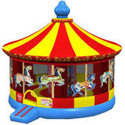 Inflatable Carousel Bounce House