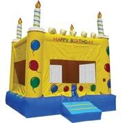 Happy birthday Cake Bounce House