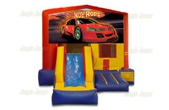 Hot Rod Bounce House Combo