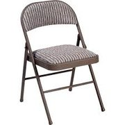 Padded Medal Folding Chairs