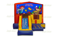 Princess of the Sea Bounce House Combo