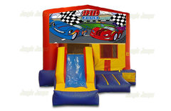 Speed Zone Bounce House Combo