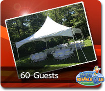 High Peak Tent Package for 60 Guests