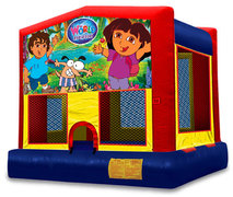 The World  Explorer Bounce House