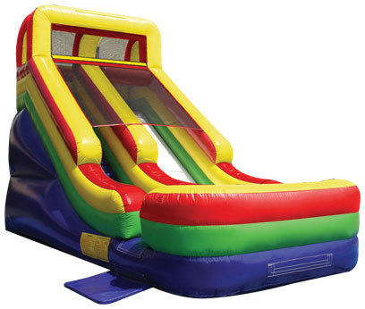 Backyard Party Package w 18' Dry Slide