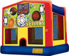 Backyard Party Package w Sports Bounce