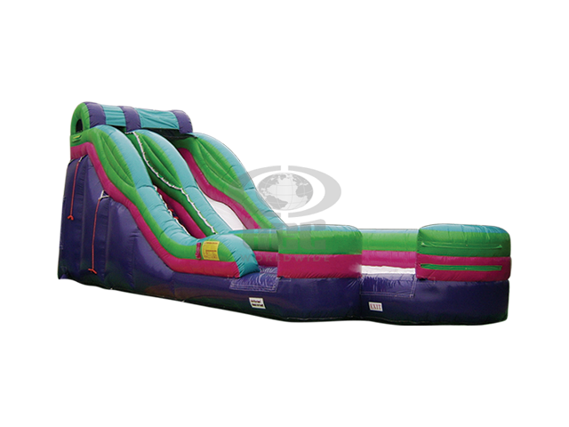 Backyard Party Package w Rip Curl Slide - Dry