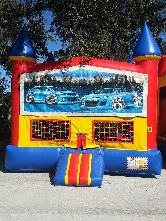 Street Car Castle Bounce House