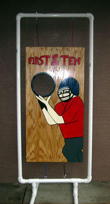 Football Toss Game