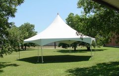 40 x 40 High Peak Hexagon Frame Tent