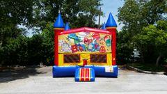 Happy Birthday Castle Bounce House