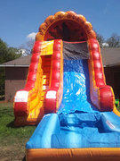 Fire n Splash Dry Slide