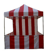 Carnival Tent with sides and Back 1