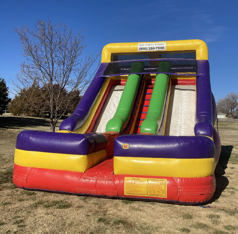 18 ft Screamer Dry Slide