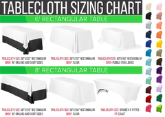 Premium Rectangle Tablecloths