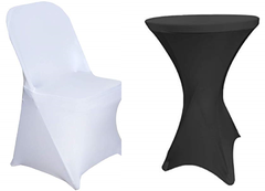 Fitted Spandex Chair & Table Covers