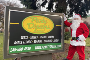 Shelby Holiday Party Rentals