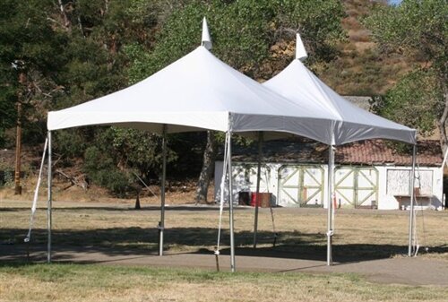 10ft x 20ft 200 sq ft  high peak frame tent
