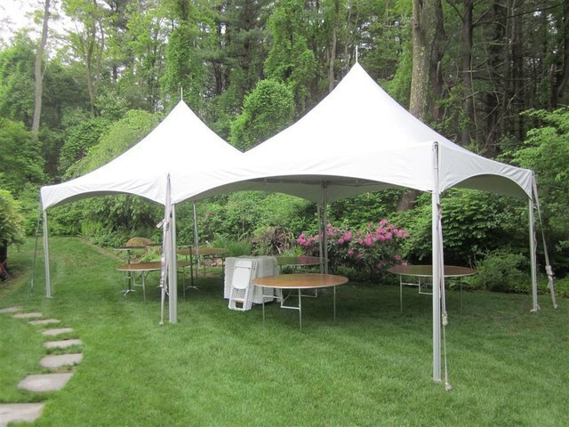 20ft X 40ft 800 sq ft high peak frame tent with gutter