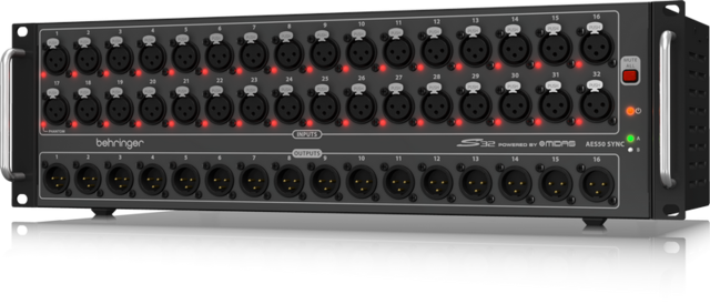 32 Channel Mic Preamp
