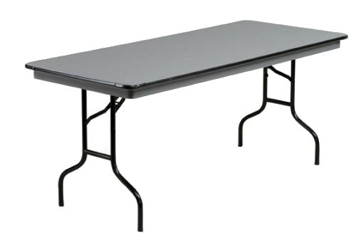 6' Grey Plastic Table