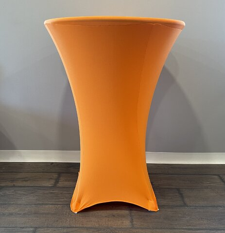 Spandex high top table cover (Orange)