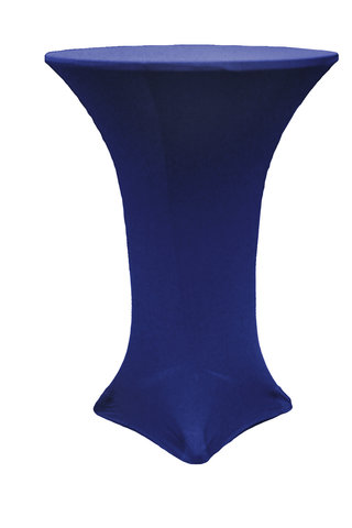 Spandex high top table cover (navy blue)