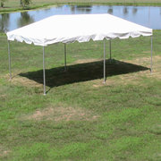 10' x 20' (200 sq ft)  High Peak Frame Tent with Gutter (Walls can be added, but are not included)