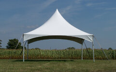 15' x 20' (300 square feet) High Peak Frame Tent (Walls can be added, but are not included)