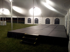 16ft x 24ft stage with step sets