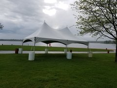 20' x 30' (600 square feet) High Peak Frame Tent (Walls can be added, but are not included)
