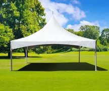 20' x 20' (400 sq ft)  High Peak Frame Tent (Walls can be added, but are not included)