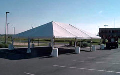 30' X 45' (1,350 square feet) Frame Tent (Walls can be added, but are not included)