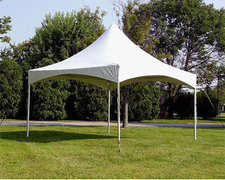 10ft X 10ft 100 Sq ft high peak frame tent