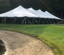 40ft x 100ft 4000 sq ft pole tent grass only