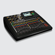 Compact 40-input 25-bus digital mixing console