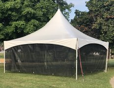 Tent Screen Wall 20' Section