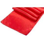 Red Satin Runner